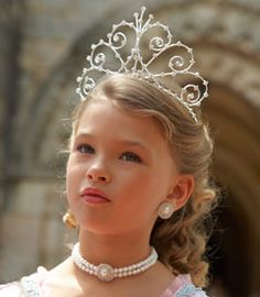royal tiara, little princess, crown, crystal