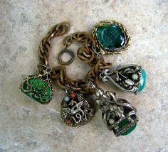 Vintage charm braclet