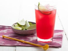 Repinned: Hibiscus Tequila Cooler #Recipe #FNGrilling #CookWithKohls
