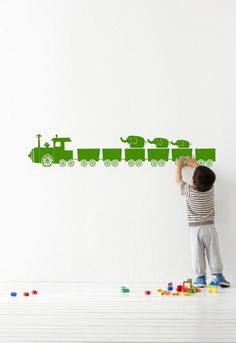 Tiny Train green ferm living