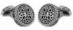 Round Filigree Cufflinks Stainless Steel by Cuff-Daddy Cuff-Daddy. $49.99. Made by Cuff-Daddy. Arrives in hard-sided, presentation box suitable for gifting.