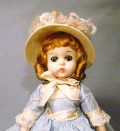 "Madame Alexander 12"" 1963 Lissy Southern Belle Doll - All Original - One Owner! #Dolls"