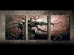 Cómo pintar las hojas de un árbol