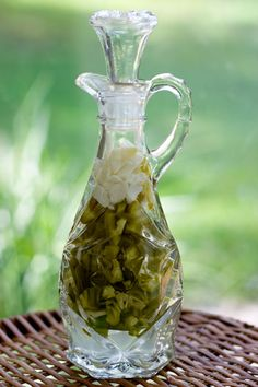 Hot Pepper Vinegar or Pepper Sauce by EclecticRecipes.com #recipe
