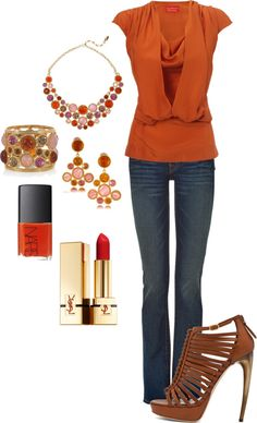 """Casual Coral"" by in2song on Polyvore"