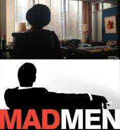 Peggy in last scene from #MadMen season 6