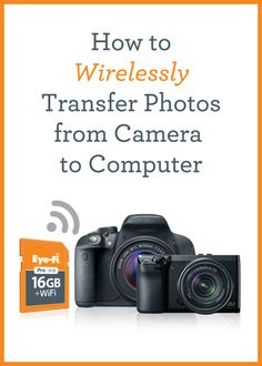 How to Wirelessly Transfer Photos from Camera to Computer from Simple Scrapper