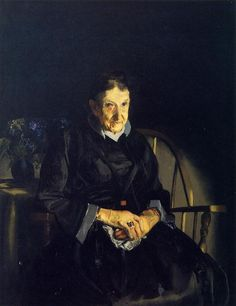 Aunt Fanny by George Bellows