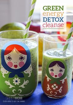 Must try this Green Energy Detox Cleanse!