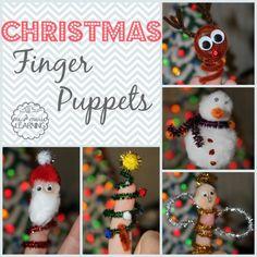 Christmas Finger Puppet Craft