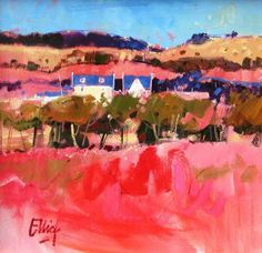scottish art   Ayrshire Moors by Scottish Contemporary Artist Ian ELLIOT