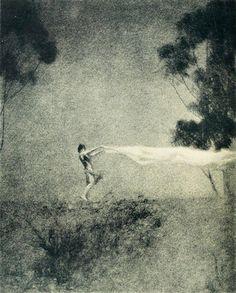 wanda grazer, the wind, 1923 (by Captain Geoffrey Spaulding)