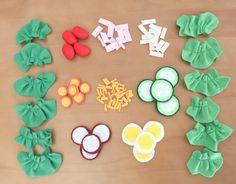 Felt Food - Play Food Salad. $25.00, via Etsy.