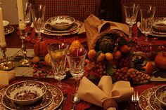 forests, houses, thanksgiv, forest manor, tablescap
