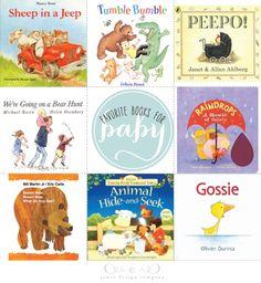 favorite books for baby  {Jones Design Co}