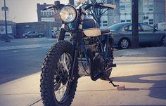 Alex's KZ400   the Bike Shed