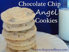 Chocolate Chip Angel Cookies