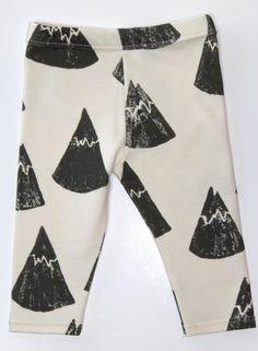 Salt City Emporium mountain print children leggings