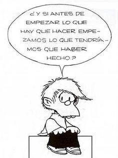 #Felipe #Mafalda felipe mafalda, cita, felip de, de empezar, de mafalda, quino mafalda, humor, frase, mafaldaquino