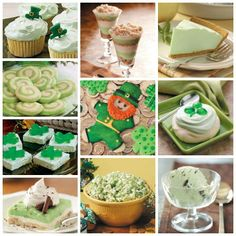Green Food for St. Patrick's Day--What could be more perfect for a St. Patrick's Day celebration than green food? These green recipes will add a fun touch to any party!