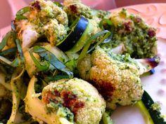 SCD Primavera Pesto w/ Roasted Cauliflower & Zucchini Ribbons