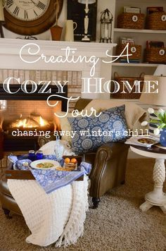 StoneGable: CREATING A COZY HOME