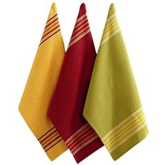 I pinned this 3 Piece Pembroke Dishtowel Set from the Apples to Apples event at Joss and Main!