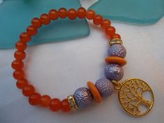 SALE Bohemian  TREE of LIFE Bracelet Gypsy Bracelet by Nezihe1, $16.00