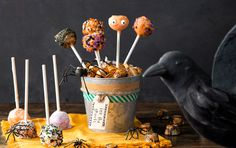 Great Pumpkin Cookie Pops at PaulaDeen.com