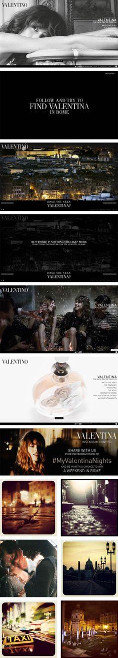 MyValentinaNights brand experi