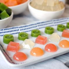 Healthy Homemade Fruit Snacks - without all the dyes and additives!