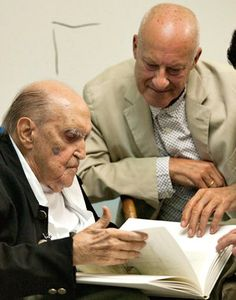 """Touching tribute to Oscar Niemeyer by Norman Foster. Click to read more!    """"He told me that architecture is important, but that life is more important.""""  #architecture #tribute #niemeyer #foster #speech"""