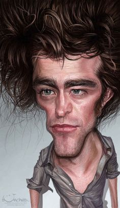 Robert Pattinson | 29 Celebrity Caricatures That Are Incredibly Accurate