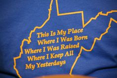 This is the place I was born.