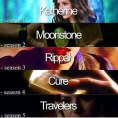 The Vampire Diaries. Word of the seasons.