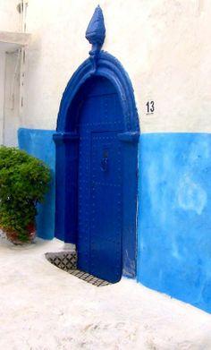 Blue Door, Rabat, Morocco