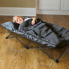 OSA Exclusive!  Make the most of your Extra-Long My Cot, by adding our matching kids' sleeping bag!
