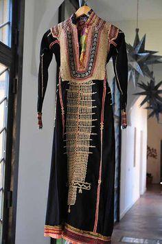 Antique hand embroidered Yemeni dress