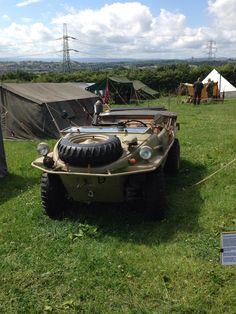 Schwimmwagen at Yorkshire wartime weekend