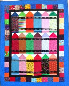 Crayons / Photo Gallery / Quilts For Kids