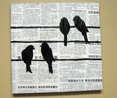 DIY Bird Art