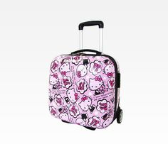 """Hello Kitty 16"""" Rolling Suitcase: Comic"""