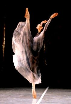 Tamara Rojo who just danced for the last time with the Royal Ballet.