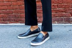 The Metro Man in his Kenneth Cole Double or Nothing sneakers