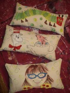 book character pillows