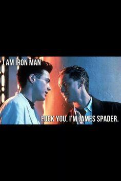 I'm James Spader