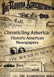 Images of Historic Newspapers online at the Library of Congress #genealogy #familyhistory