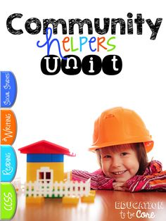 Community Helpers Unit and Close Read:  If you are looking for something to completely engage your young readers in their Community Helpers learning, this Unit is for you.