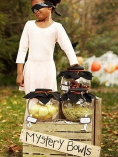 Try this DIY Game at your PTA / PTO Halloween party.