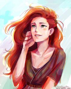 Lily Potter (Evans) by viria13.deviantart.com